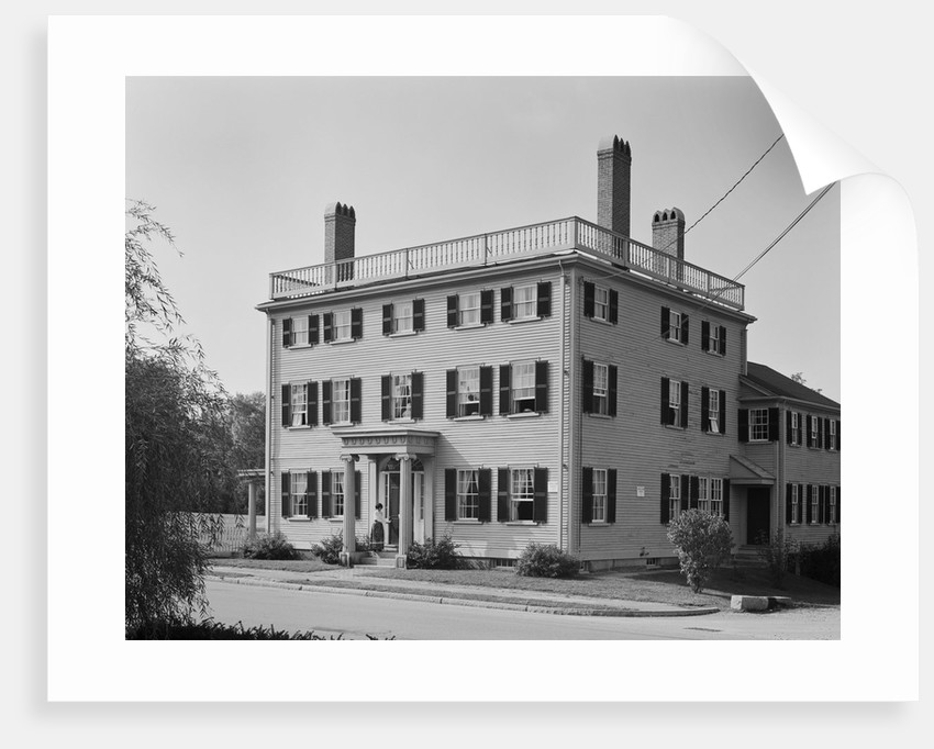 Governor Goodwin House by Corbis