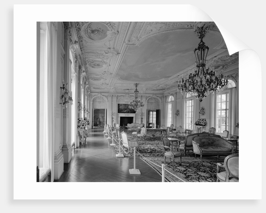 Ballroom at Rosecliff by Corbis