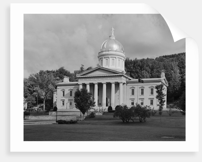 Vermont State Capitol by Corbis