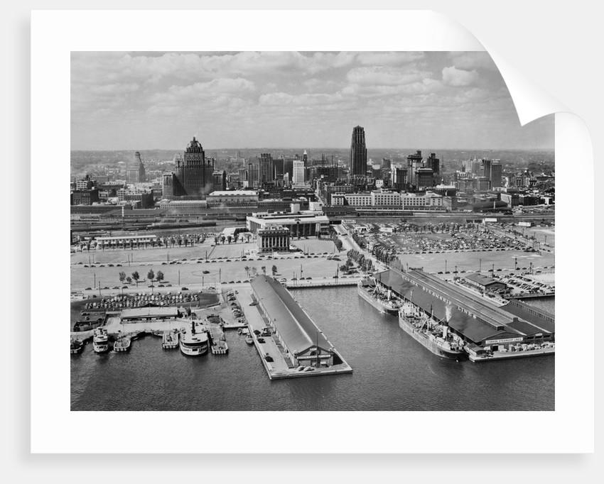 Skyline and Harbor of Toronto by Corbis