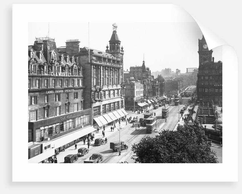 View of Princes Street by Corbis