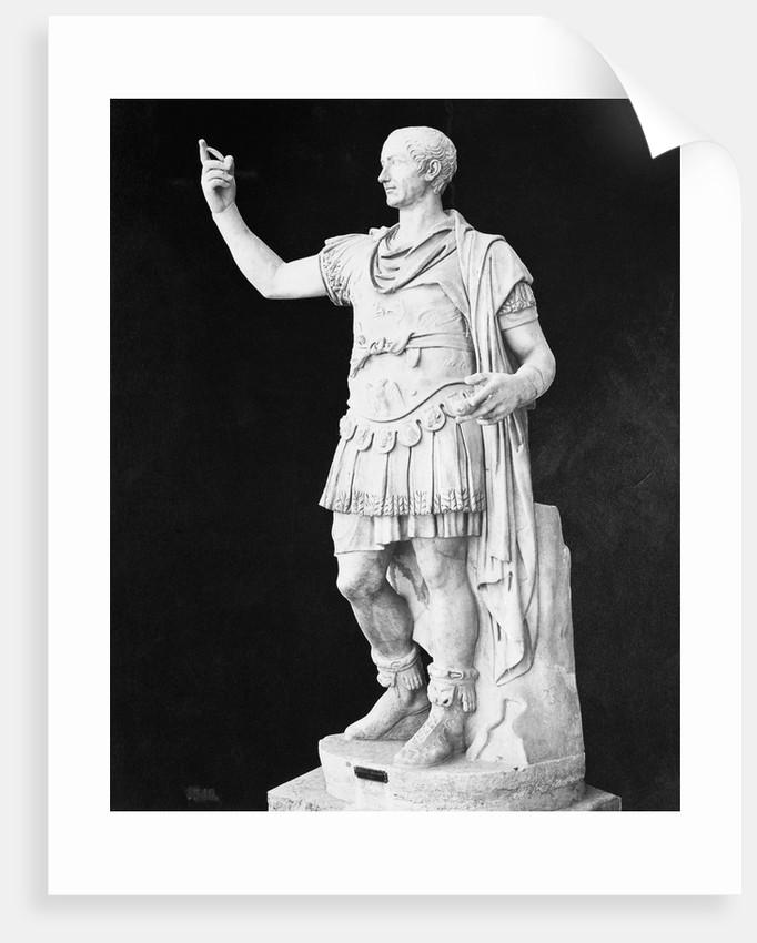 Statue of Julius Caesar by Corbis