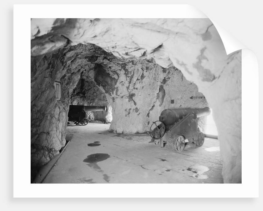 Cannon Galleries in the Great Siege Tunnels by Corbis