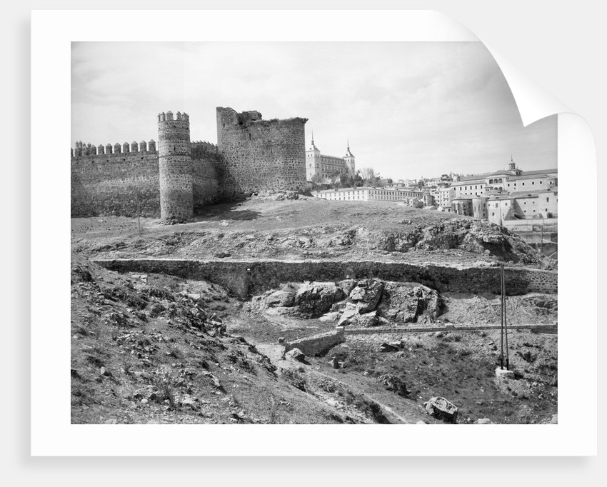 Castle of San Servando Ruins in Toledo by Corbis