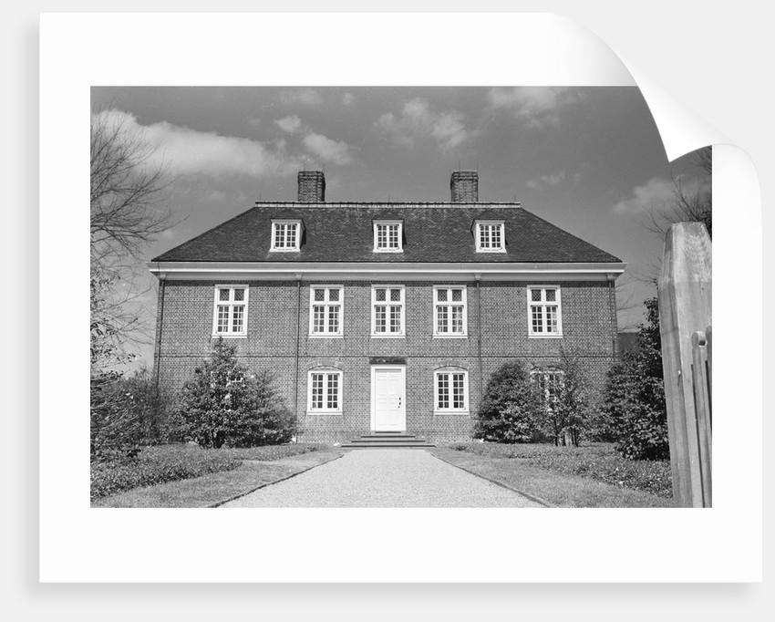Pennsbury Manor by Corbis