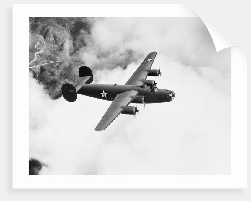 B-24 Liberator Flying by Corbis