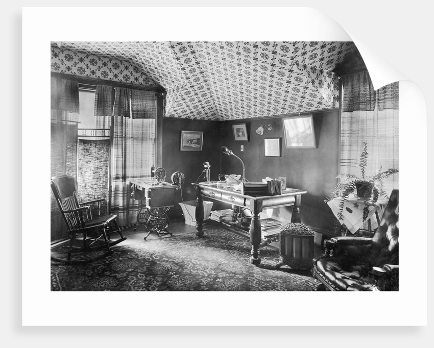 Electric Devices in a Sitting Room by Corbis