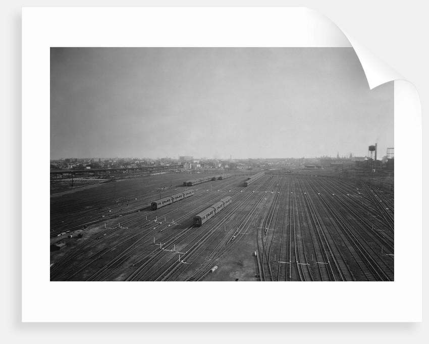 Coney Island Rail Yard for the Brooklyn-Manhattan Transit by Corbis