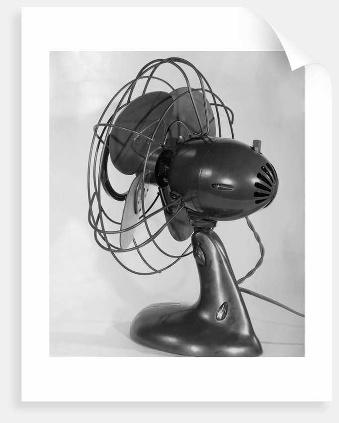 Power-Aire Oscillating Fan by Corbis