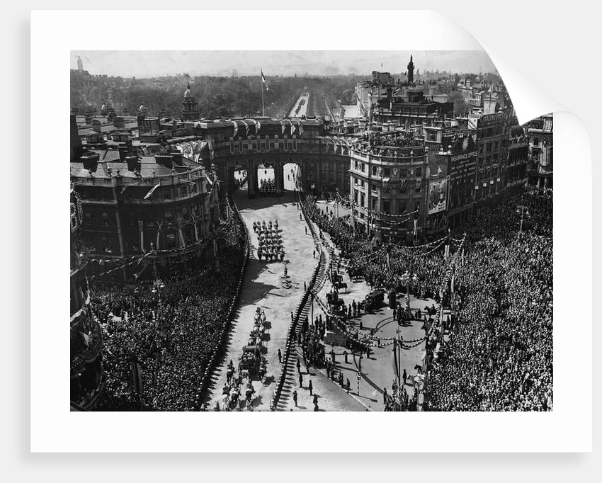 Jubilee Procession in London by Corbis