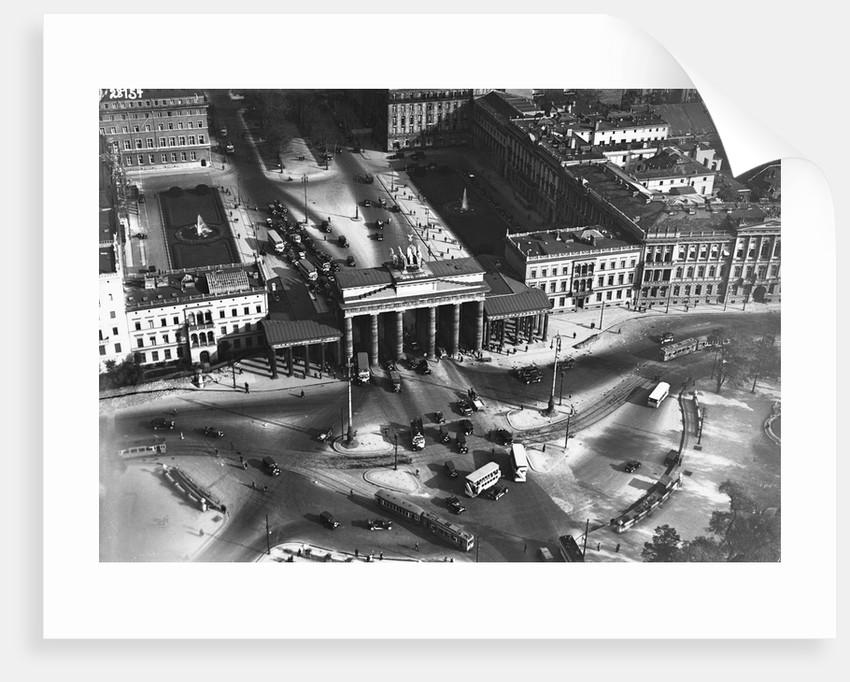 The Brandenburg Gate by Corbis