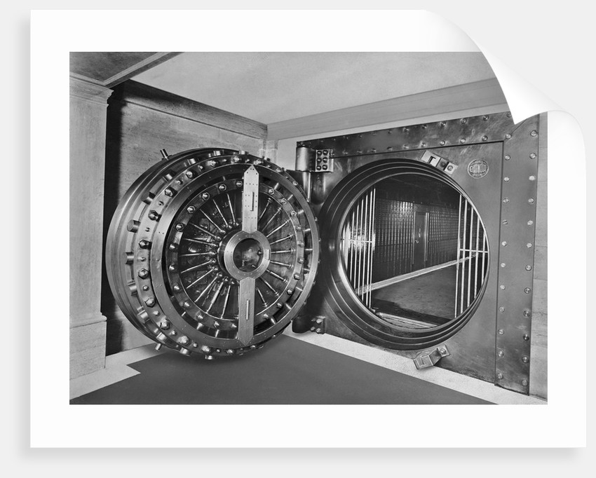 Bank Vault of Midland Bank by Corbis