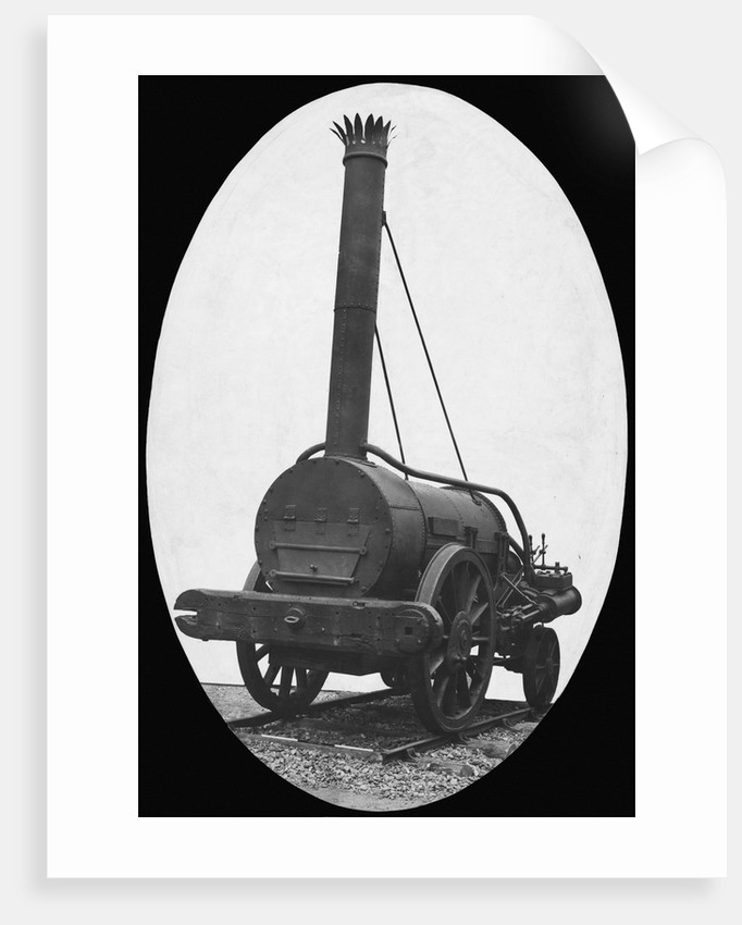 Front View of the Rocket by Corbis