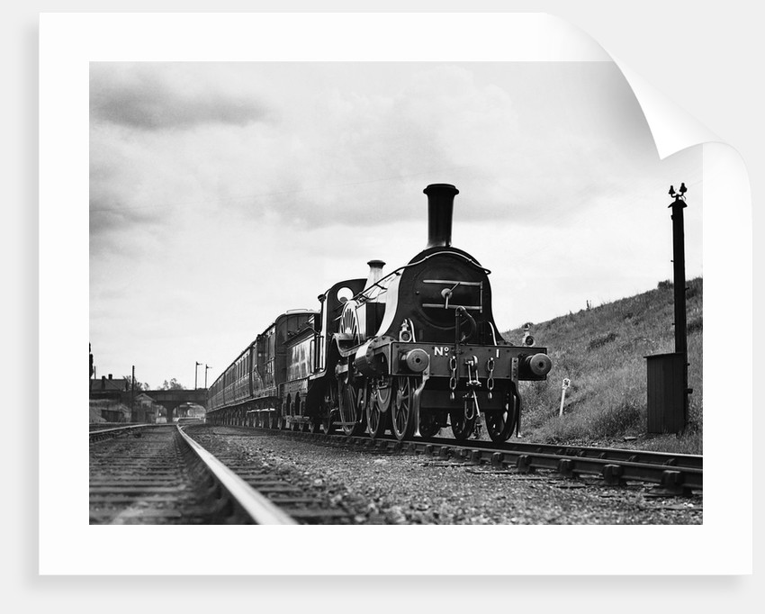 Front View of Locomotive by Corbis