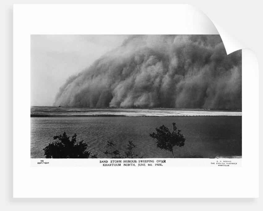 Sand Storm or Hunoub in North Khartoum by Corbis