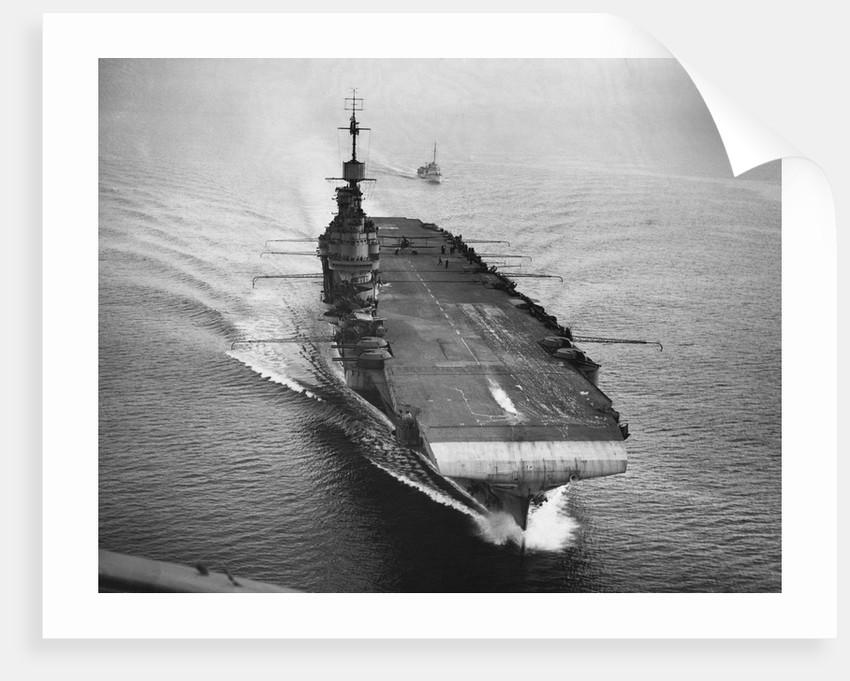 HMS Illustrious, 1942 by Corbis