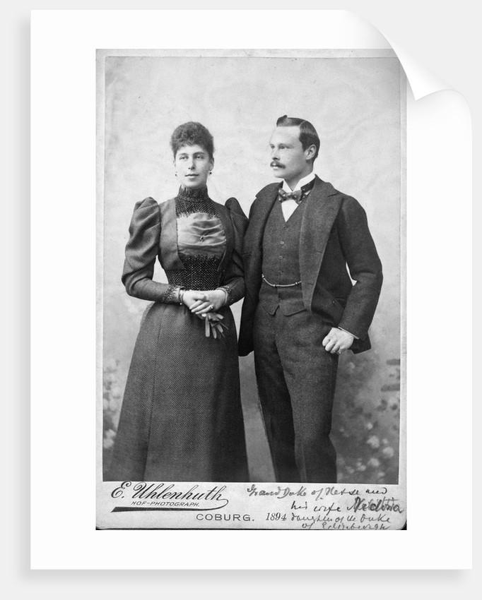 Grand Duke and Duchess of Hesse by Corbis