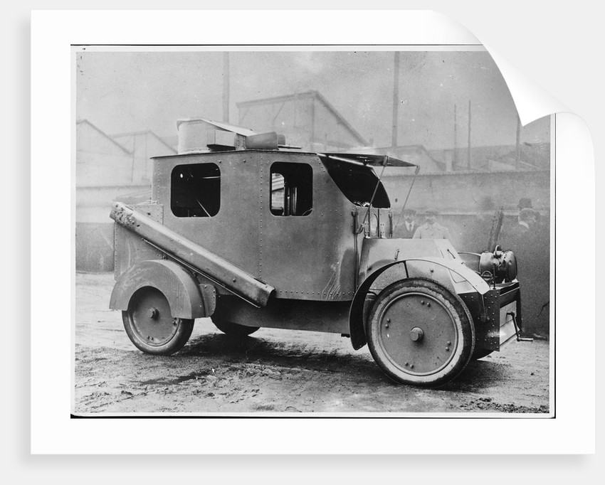 First World War French Armoured Car by Corbis