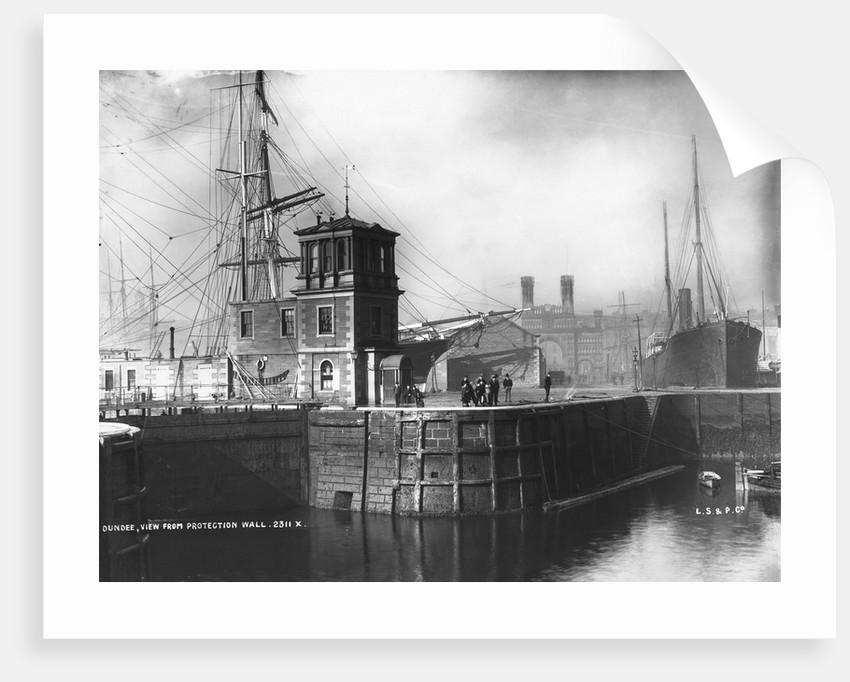 Dundee Harbor by Corbis