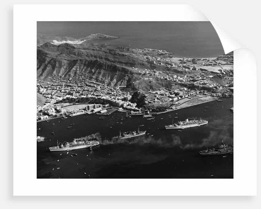 Aden from the Air by Corbis
