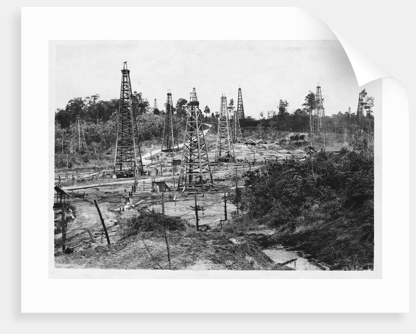 Oil Field in Trinidad by Corbis