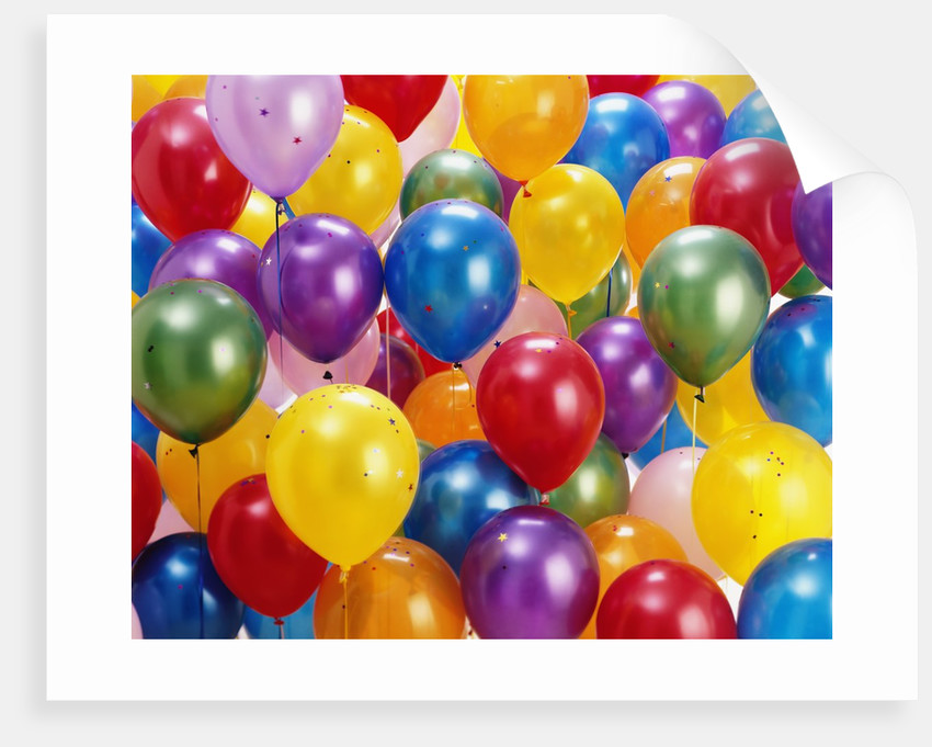 Birthday Balloons By Corbis