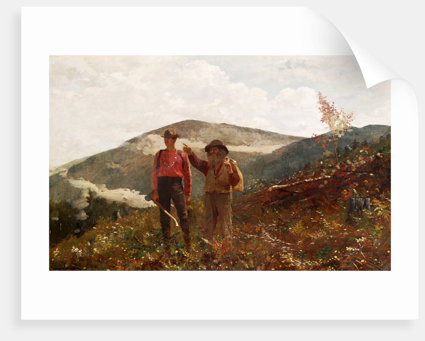 Two Guides by Winslow Homer