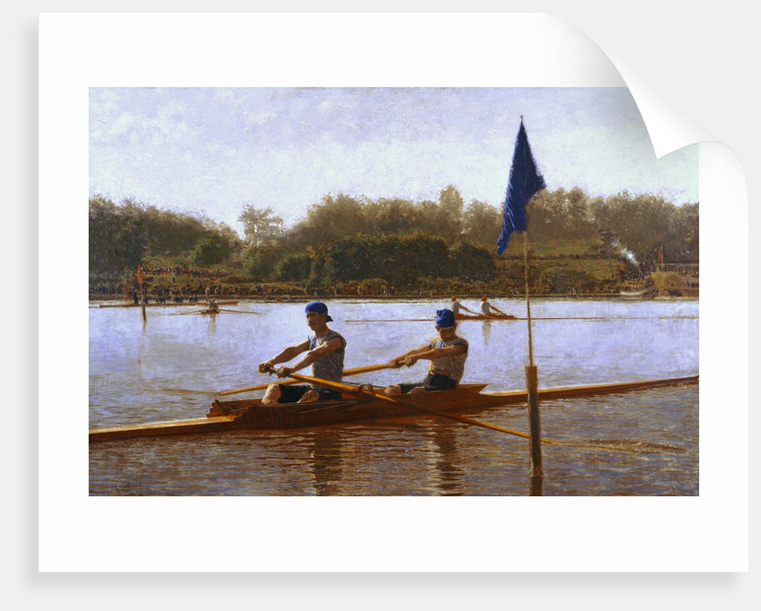 Biglen Brothers Turning the Stake by Thomas Eakins