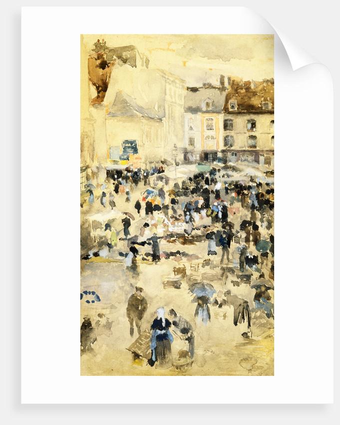 European Street Scene by Maurice Prendergast