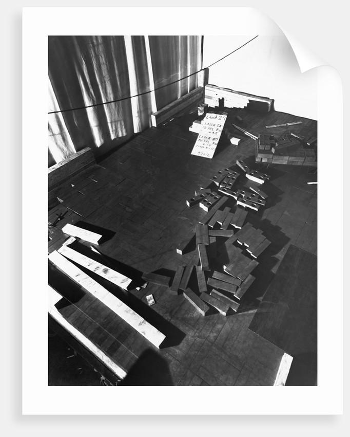 Metal Rods, Part of Fermi's Atomic Pile by Corbis