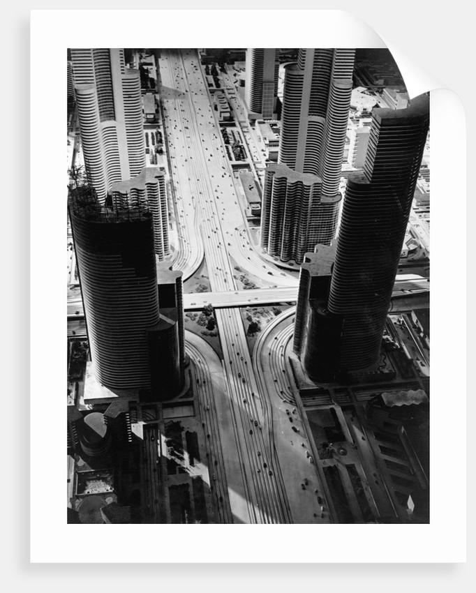 Futurama City of 1960 by Corbis