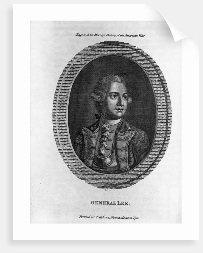 Portrait of General Charles Lee by Corbis