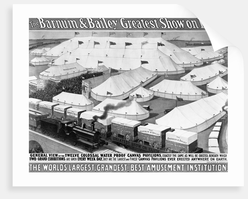 Barnum & Bailey Greatest Show on Earth Poster by Corbis