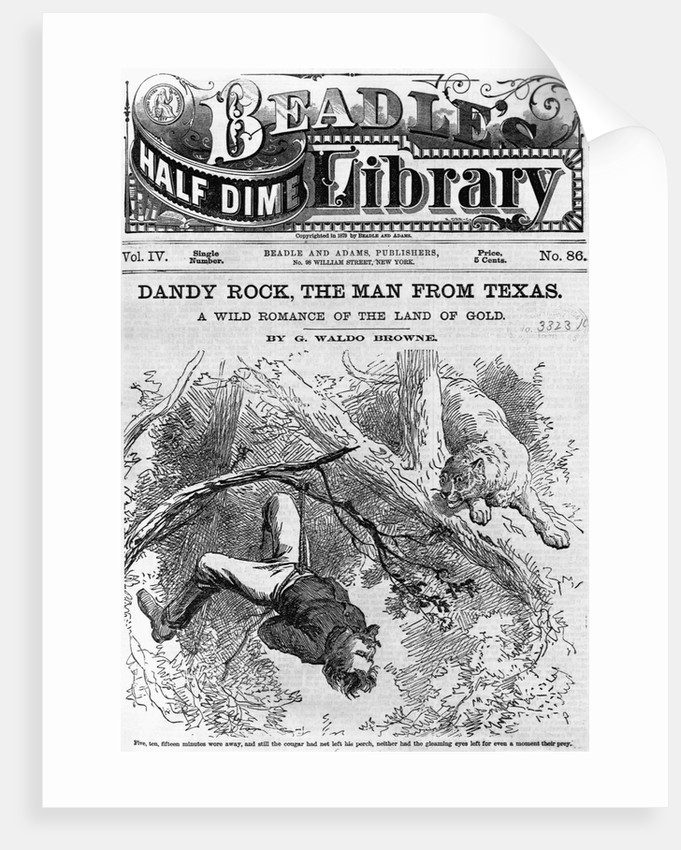 "Illustration From ""Dandy Rock, the Man From Texas"" by Corbis"