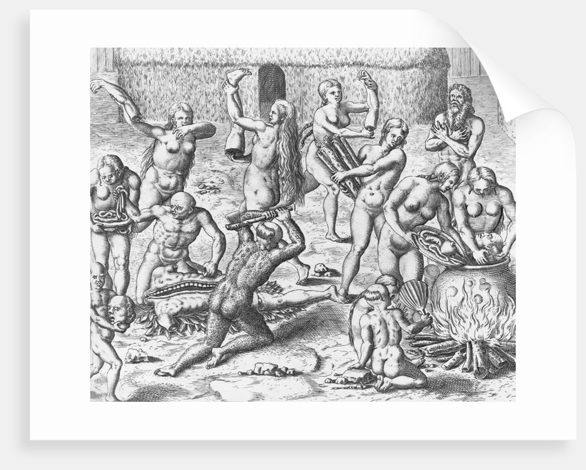 How Almighty God Worked a Wonder by Theodor de Bry