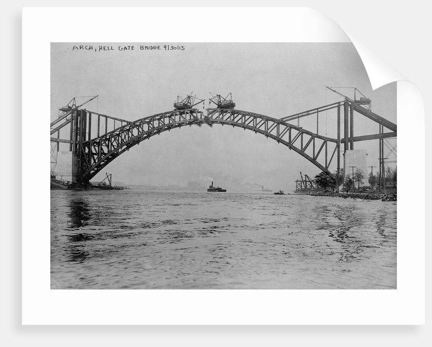 Hell Gate Bridge, New York by Corbis