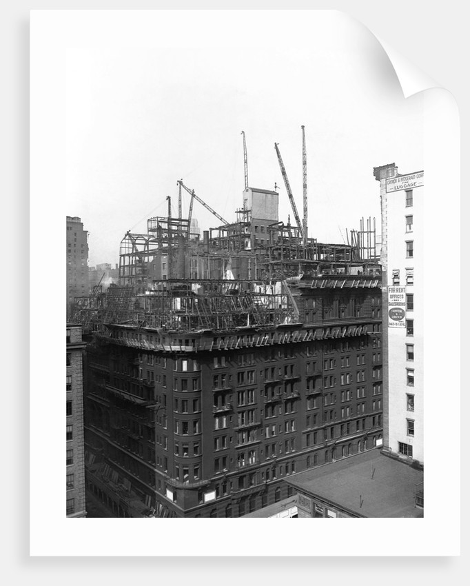 Demolition of the Waldorf-Astoria by Corbis