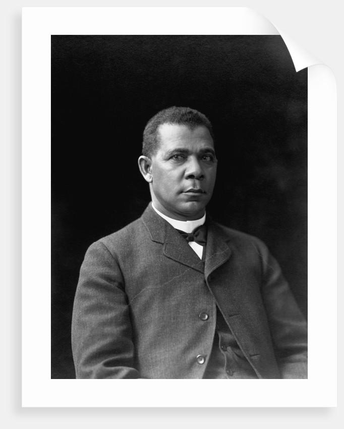 Educator and Writer Booker T. Washington by Corbis