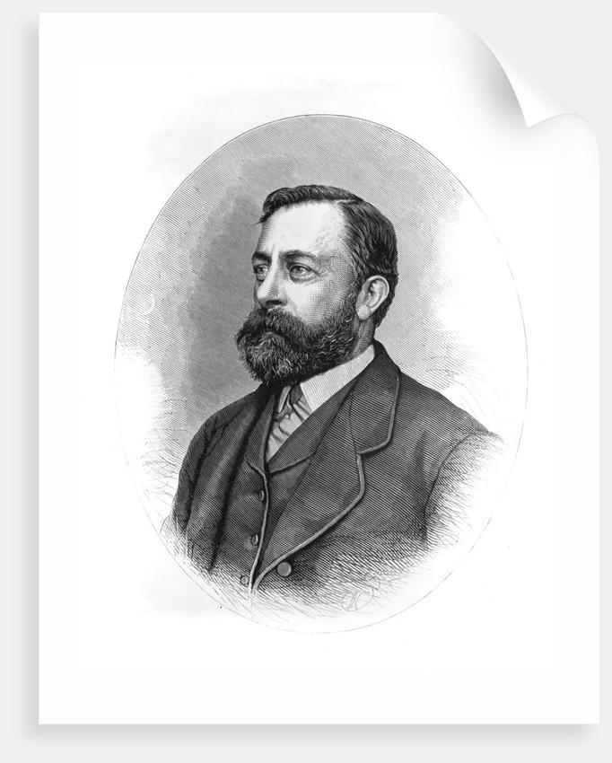 Painter Albert Bierstadt by Corbis