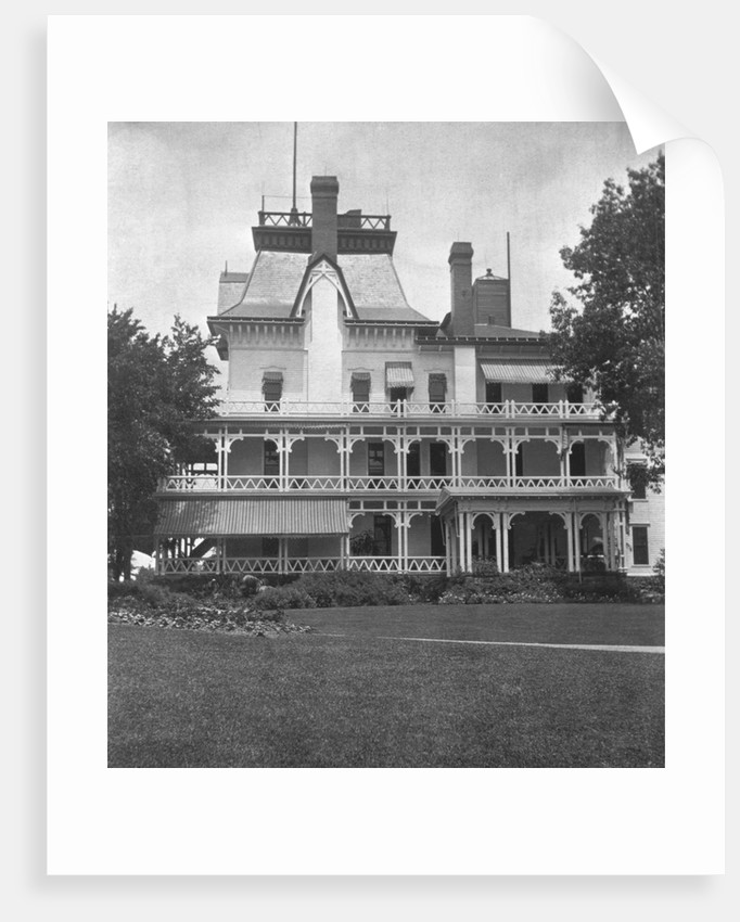 Home of John D. Rockefeller, Forest Hill, Cleveland, Ohio by Corbis