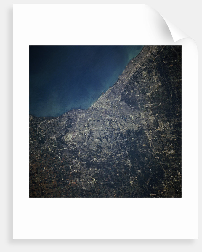 Cleveland from Orbit by Corbis