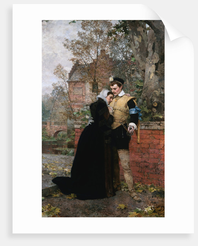 Farewell Mother by Karl Heinrich Hoff