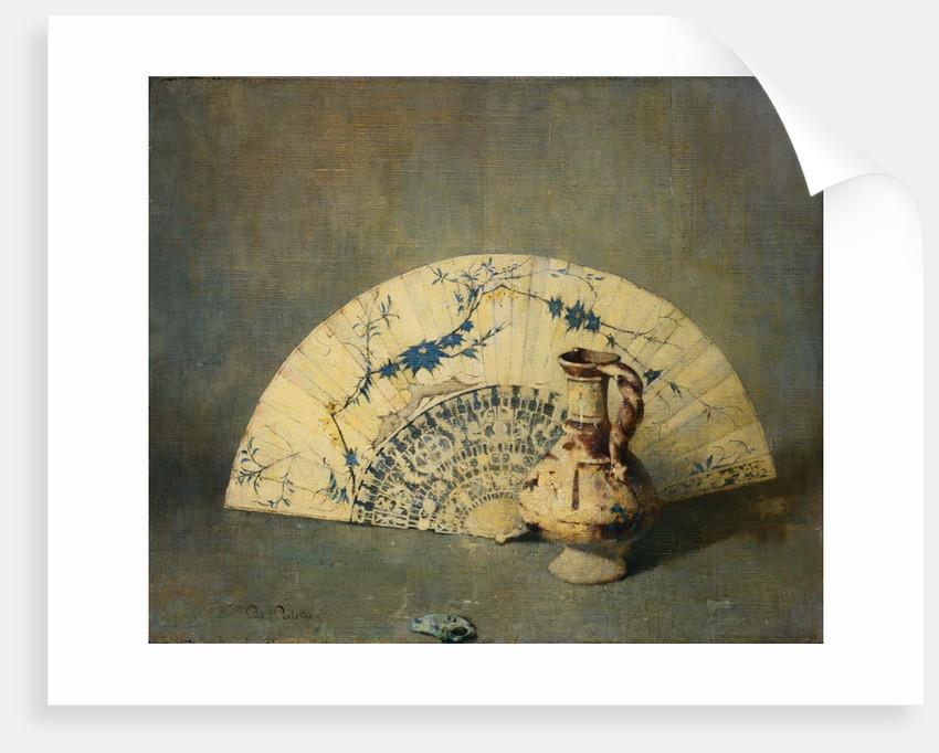 The Fan by Soren Emil Carlsen