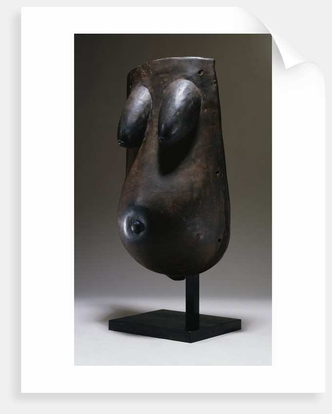 A Makonde Body Mask by Corbis