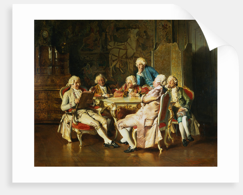 An Intriguing Idea by Johann Hamza