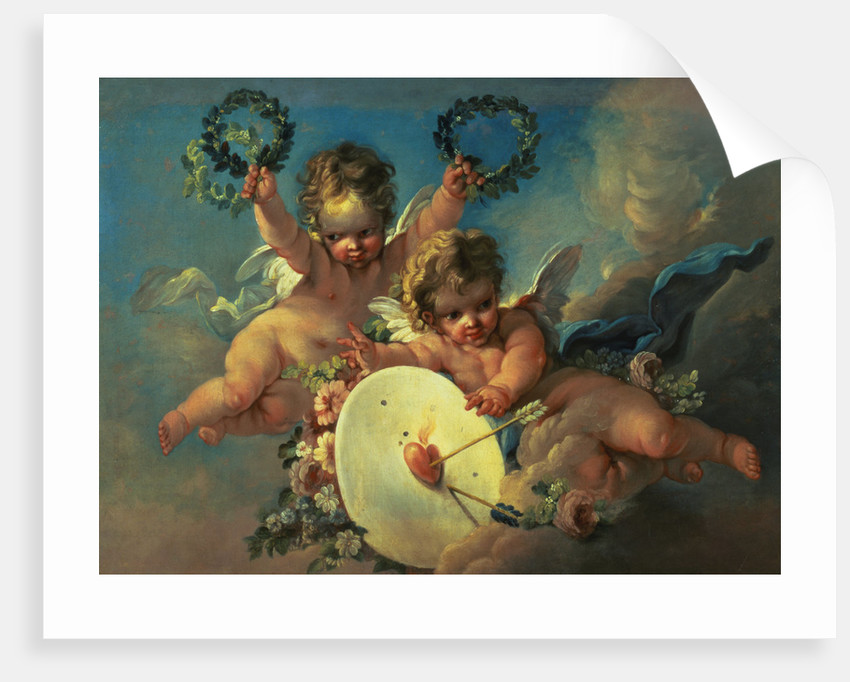 Love Target Attributed to Francois Boucher and Workshop by Corbis