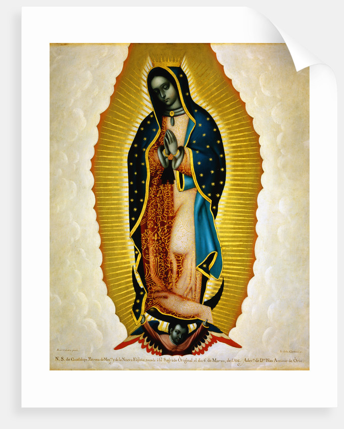 The Virgin of Guadalupe by Miguel Cabrera