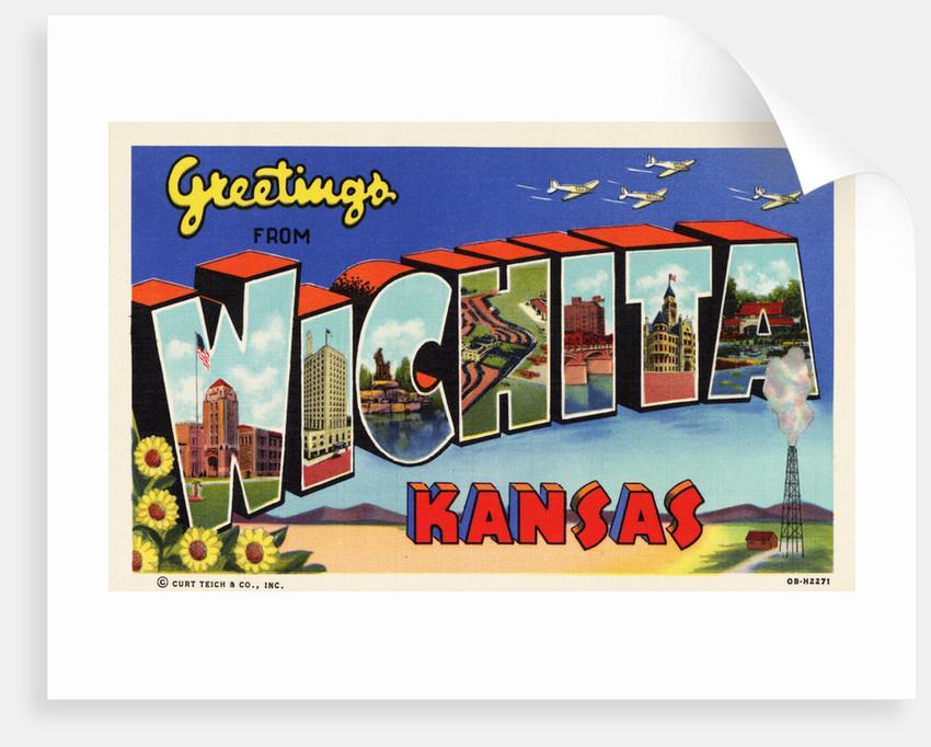 Greeting Card from Wichita, Kansas by Corbis