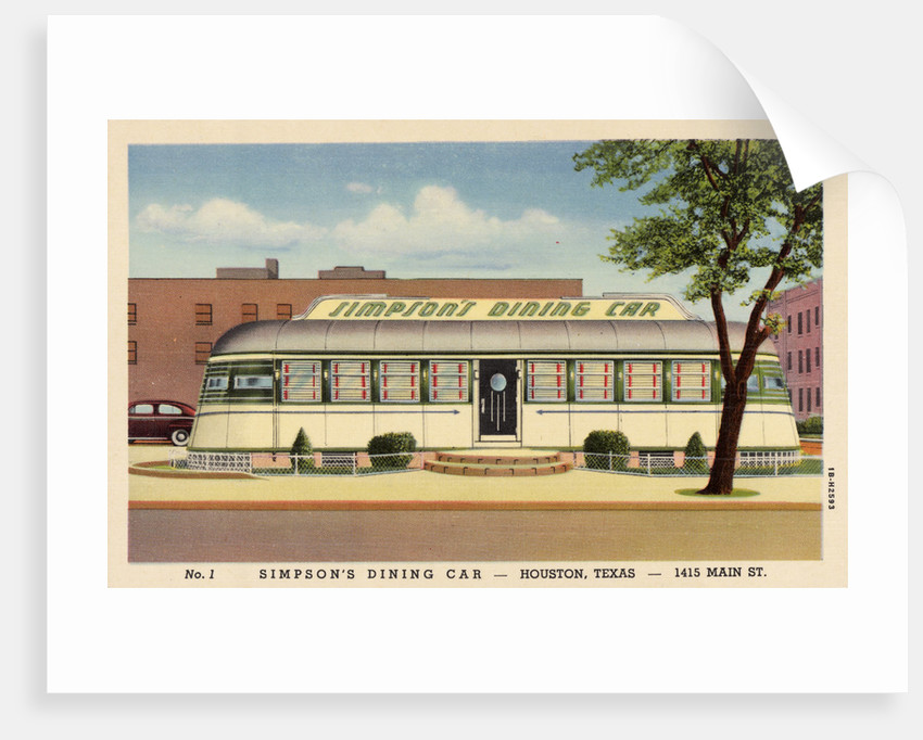 Simpson's Dining Car Restaurant by Corbis