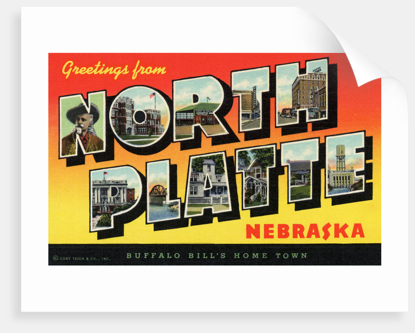 Greeting Card from North Platte, Nebraska by Corbis